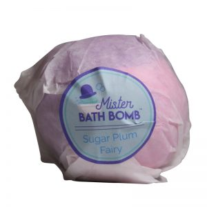 Wrapped Sugar Plum Fairy Bath Bomb